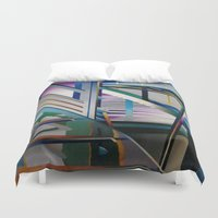 architecture Duvet Covers featuring Architecture by Paris Martin