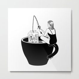 Laid-Back Time Metal Print