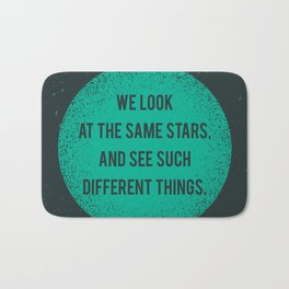 Same Stars - Different Things Bath Mat