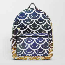 Mermaid Scales Deep Sea Sparkle Backpack