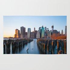Sunset over Manhattan Rug