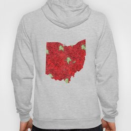 Ohio in Flowers Hoody