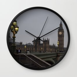 Grey day in Westminster Wall Clock
