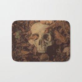 Catacomb Culture - Human Skull Forest Bath Mat