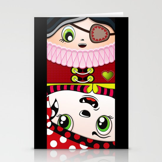 Beware the Square II Stationery Cards