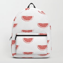Grapefruit Wedge Print and Pattern Backpack