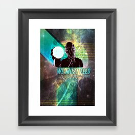 """Doctor Who: Ood - """"We must feed"""" Framed Art Print"""