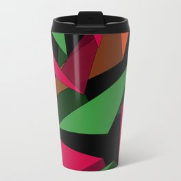 Triangular Lines Travel Mug