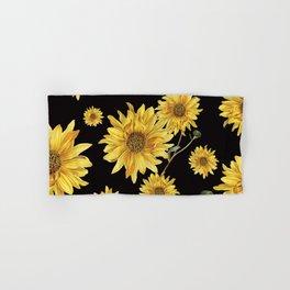 Sunflower Pattern 2 Hand & Bath Towel