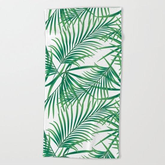 Tropical pattern.2 Beach Towel