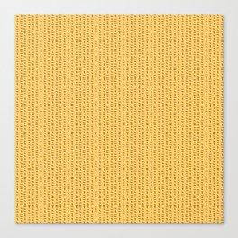 Scottie pattern Canvas Print