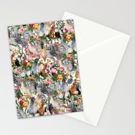 Julia's Chickens Stationery Cards