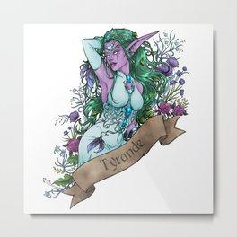 High Priestess Metal Print
