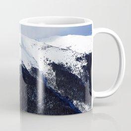 Snow cowered peaks Coffee Mug