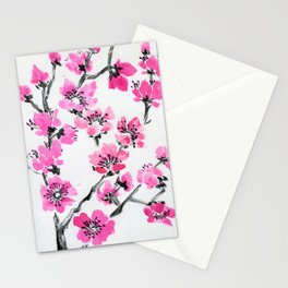 Cherry Simple Stationery Cards