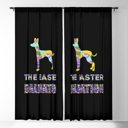 Dalmation gifts | Easter gifts | Easter decorations | Easter Bunny | Spring decor Blackout Curtain