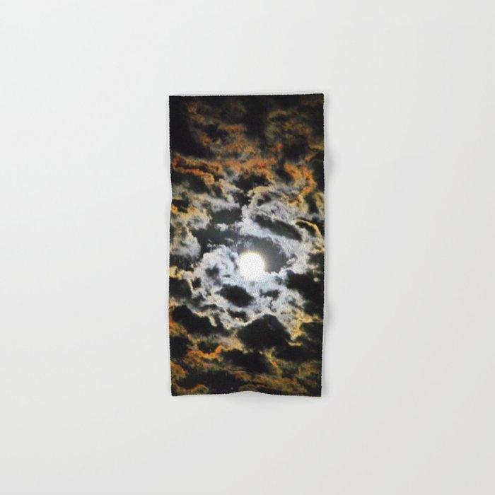 Tiger Full Moon Hand & Bath Towel