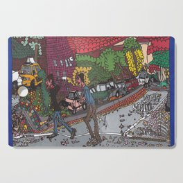 Jills Street - New York Cutting Board