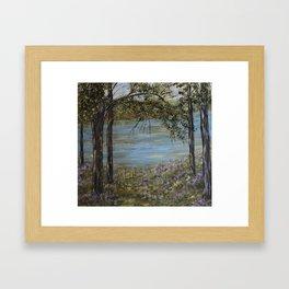 Morning Stillness Framed Art Print