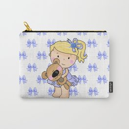 Ballerina Bessie and Her Bear Carry-All Pouch