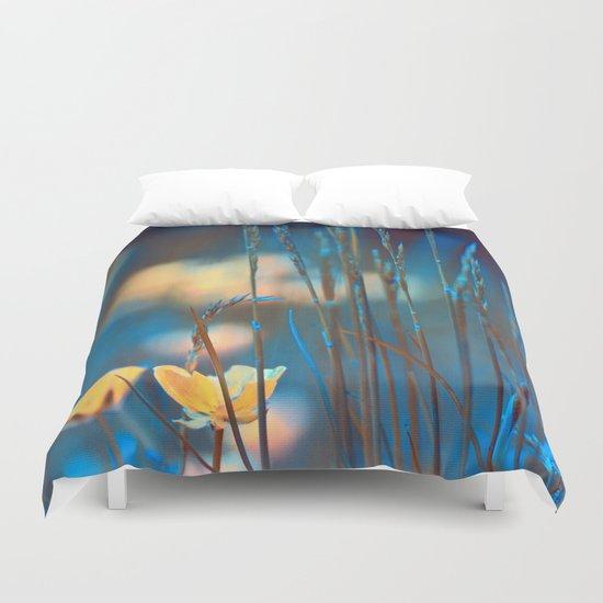 Blue dusk. Duvet Cover