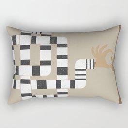 Who stole my Mac? Rectangular Pillow