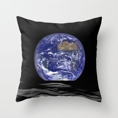 Earthrise 2 Throw Pillow