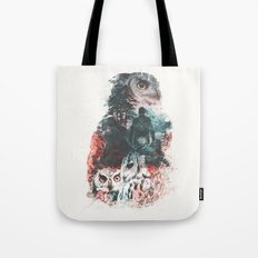 Not What They Seem Inspired by Twin Peaks Tote Bag