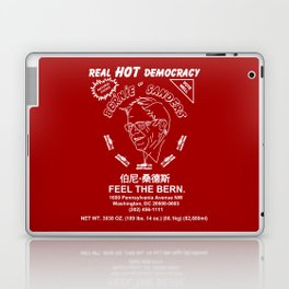 Bernie Sanders Sriracha Style Feel The Bern Laptop & iPad Skin