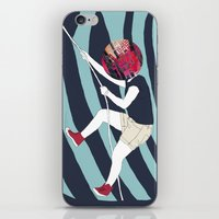 into the wild iPhone & iPod Skins featuring WILD by Mireia Mullor
