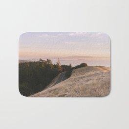 Mt. Tamalpais Sunset Bath Mat