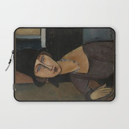 Modigliani - Jeanne Hebuterne With Hat And Necklace Laptop Sleeve