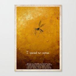 Jurassic Park - mosquito Canvas Print