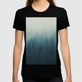 Into The Misty Nature - Turquoise II T-shirt