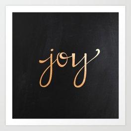 JOY II Art Print