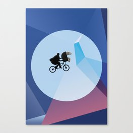 E.T (with a penis) Canvas Print