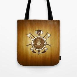d20 Viking Warrior Tote Bag