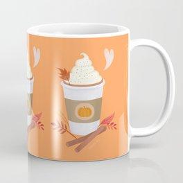 Pumpkin Spice Latte (orange) Coffee Mug