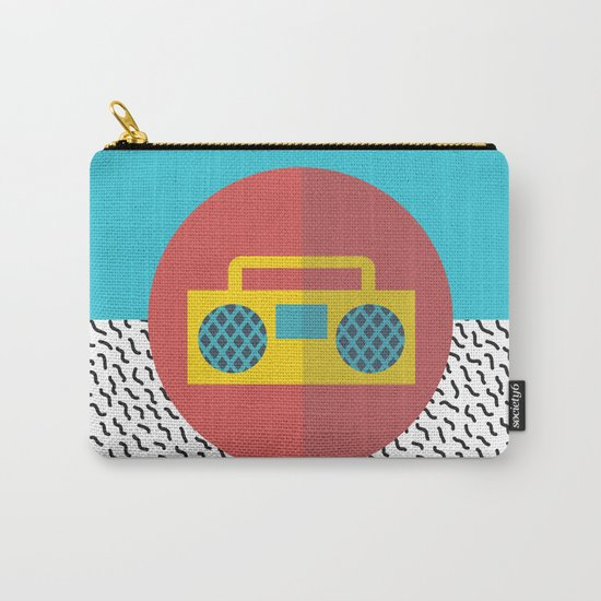 Nice People Like Music Carry-All Pouch