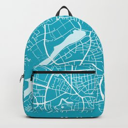 MUNSTER City Map - Germany | Aqua | More Colors, Review My Collections Backpack