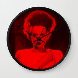 Elsa Lanchester - Celebrity (Photographic Art) Wall Clock