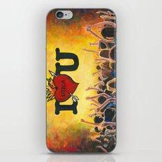 Utica Music and Arts Fest iPhone & iPod Skin