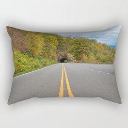 Shenandoah Skyline Drive Rectangular Pillow