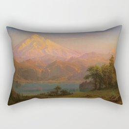 Albert Bierstadt - Mt Hood 1869 Rectangular Pillow