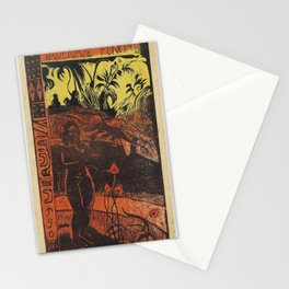 Paul Gauguin - Nave Nave Fenua from the Noa Noa Series (1894) Stationery Cards