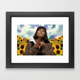 Someplace Else Framed Art Print