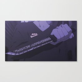 Sad anime aesthetic - Don't mess with me Canvas Print