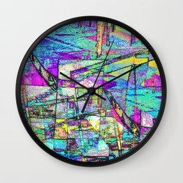 Cubic Vista Wall Clock