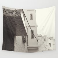 morocco Wall Tapestries featuring Morocco by Ruby Becker