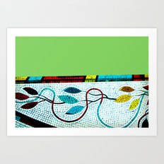 Mosaic II Art Print